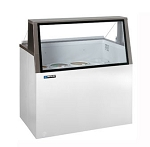 Master Bilt DD-46L Ice Cream Dipping/Display Cabinet, low-glass, (8) 3 gallon can display,