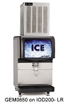 ICE-O-MATIC, GEM0956A, Pearl Ice Maker, air-cooled,1053 lb