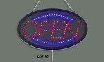 LED Sign,Open W/Transparent Cover