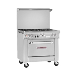 SOUTHBEND 4361D Ultimate Restaurant Range, gas, 36