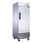 Dukers D28R Refrigerator, reach-in, one-section, bottom mount self-contained refrigeration