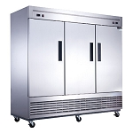 D83RF 3-Door Dual Zone Refrigerator & Freezer in Stainless Steel