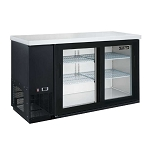 Dukers DBB48-S2 2-Door Bar and Beverage Cooler (Sliding Doors)