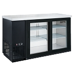 Dukers DBB60-H2 2 Door Bar and Beverage Cooler (Hinge Doors)
