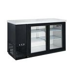 Dukers DBB72-H3 3 Door Bar and Beverage Cooler (Hinge Doors)