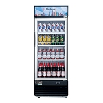 Dukers  DSM-19R Commercial Single Glass Swing Door Merchandiser Refrigerator