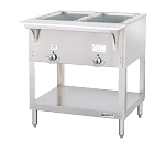 DUKE E302SW (2) Well Hot Food Station, electric,