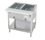 DUKE E302 2 Well Hot Food Station, electric,