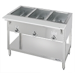 DUKE E303 (3) Well Hot Food Station, electric,