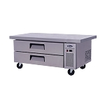 Atosa MGF8452 Chef Base with Extended Top, one-section,(2) drawers