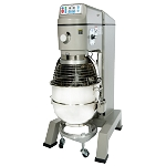 GLOBE SP80PL Planetary Mixer, floor model, 4-speed (fixed), 80 qt.