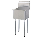 Turbo Air TSB-1-N Prep Sink, 1-compartment, 24