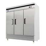 ATOSA Reach-In Freezer, three-section