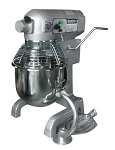 UNIWORLD, UPM-20ET, 20-QT. MIXER w/ Guard, 3 Attach. & Timer (ETL)