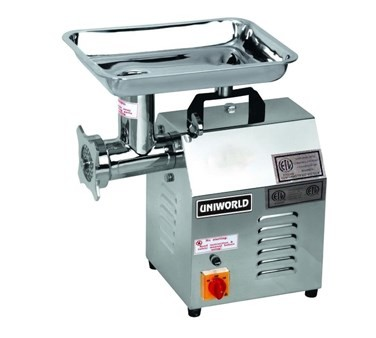 Uniworld TC-12E Meat Grinder, electric, 250 lb capacity per hour
