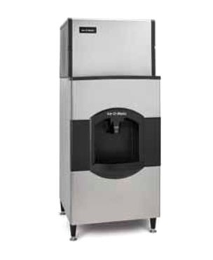 ICE-O-MATIC, CD40130, Ice Dispenser, floor model, approximately 180 lb ice storage capacity