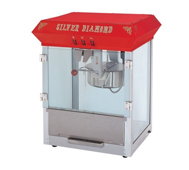 POPCORN MACHINE, 8 oz.  ETL