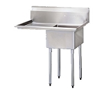 Turbo Air TSA-1-L1 Sink, 1-compartment,